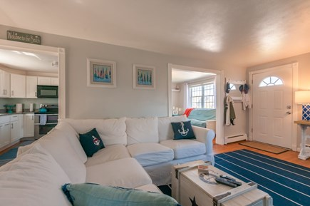 Sandwich Cape Cod vacation rental - Main entry is into the Living Room