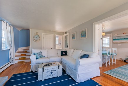 Sandwich Cape Cod vacation rental - Kitchen opens to Living Room