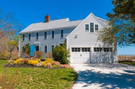 Sandwich Cape Cod vacation rental - Front view of home.