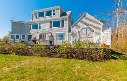 Sandwich Cape Cod vacation rental - View of back of house and deck