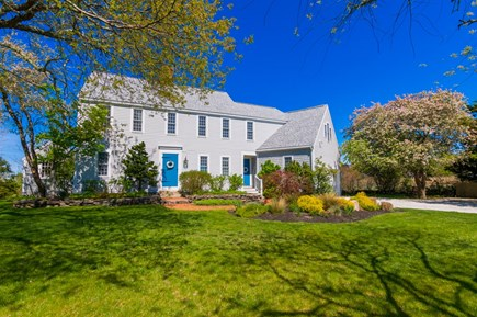 Sandwich Cape Cod vacation rental - Home is surrounded by beautiful plantings and gardens