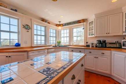 Sandwich Cape Cod vacation rental - Custom tilework in Kitchen