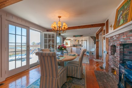 Sandwich Cape Cod vacation rental - Dining area provides stunning views