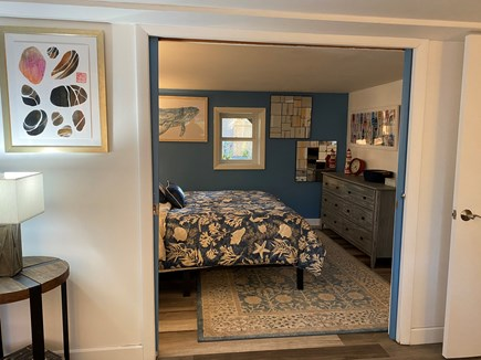 Provincetown Cape Cod vacation rental - Reading room; pocket doors close for privacy