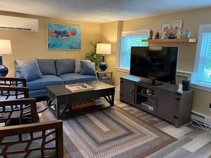 Provincetown Cape Cod vacation rental - Living room, TV swivels for viewing
