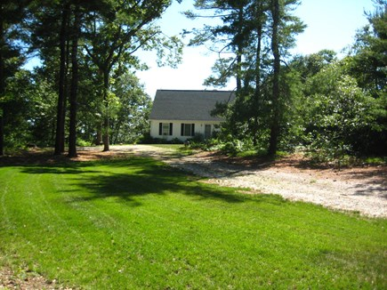 Brewster Cape Cod vacation rental - Arrival View Private Driveway