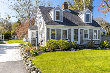 Chatham Cape Cod vacation rental - 3 BR Main House and driveway into property