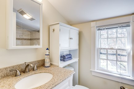 Chatham Cape Cod vacation rental - Upstairs Full Bath (shower and tub combined)