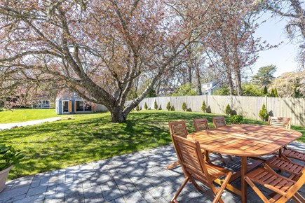 Chatham Cape Cod vacation rental - Outdoor patio overlooking barn