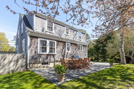 Chatham Cape Cod vacation rental - Outdoor patio; new gas Weber grill