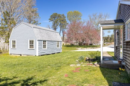 Chatham Cape Cod vacation rental - Full view of property from the back - overlooking barn, cottage