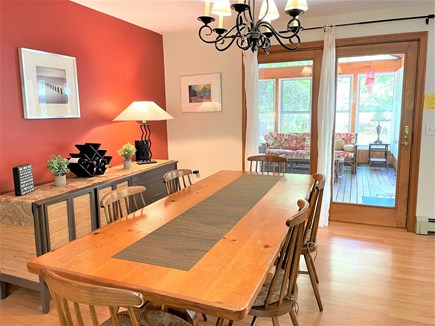 Eastham Cape Cod vacation rental - Dine indoors or out on the screened in porch