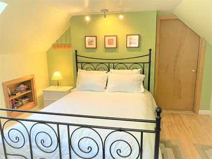 Eastham Cape Cod vacation rental - Second floor Queen bed with book nook and reclining couch