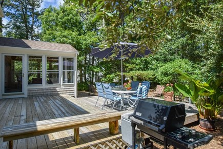 Eastham Cape Cod vacation rental - Large deck & screened in sunroom for entertaining!