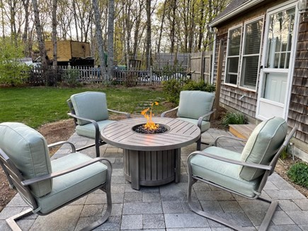 Eastham Cape Cod vacation rental - Relax by the fire pit