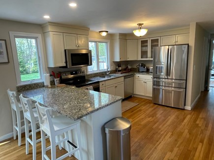 Eastham Cape Cod vacation rental - Spacious kitchen with granite counters and new appliances