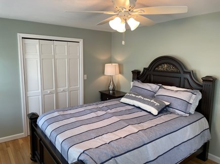 Eastham Cape Cod vacation rental - Nautical Queen bedroom (downstairs)