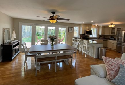 Eastham Cape Cod vacation rental - Breezy, open concept living/dining area