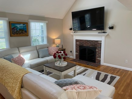 Eastham Cape Cod vacation rental - 75 inch TV