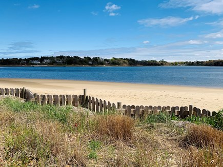Bourne, Buzzards Bay Cape Cod vacation rental - The gorgeous private beach at Hideaway Village.