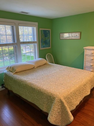 Brewster Cape Cod vacation rental - Queen bedroom with dresser and walk in closet.