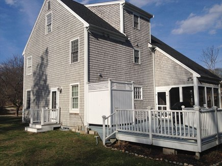 West Falmouth Cape Cod vacation rental - Back Exterior
