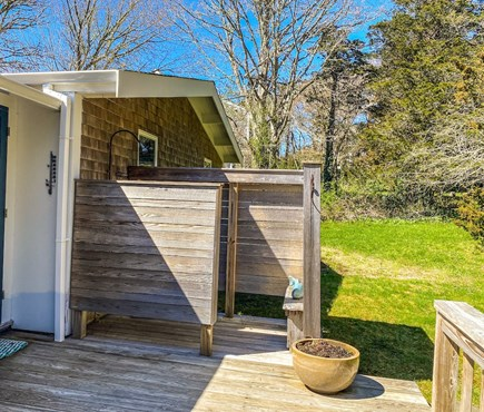 Orleans Cape Cod vacation rental - enclosed outdoor shower