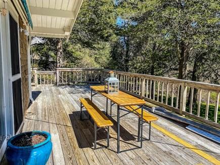 Orleans Cape Cod vacation rental - Wrap around deck