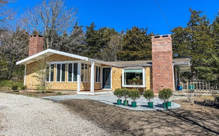 Orleans Cape Cod vacation rental - Front Exterior with brand new patio