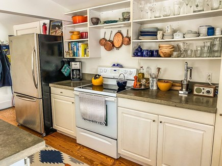 Orleans Cape Cod vacation rental - Open Kitchen with concrete countertops
