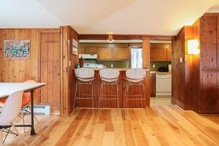 Orleans  Cape Cod vacation rental - Kitchen bar with seating for 3.