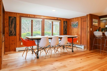 Orleans  Cape Cod vacation rental - Open dining room next to bar and kitchen, great for entertaining!