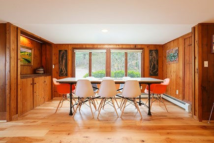 Orleans  Cape Cod vacation rental - Dining area with seating for 8.