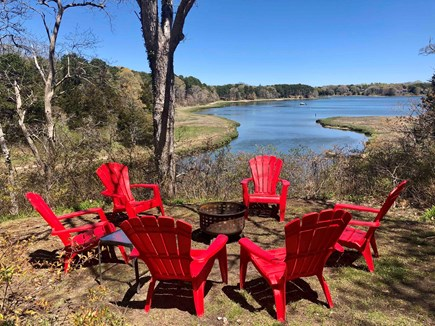 Orleans  Cape Cod vacation rental - Fire pit fun!