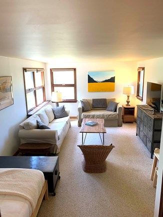 Orleans  Cape Cod vacation rental - Bedroom 5/Family room (twin, twin sofa bed)
