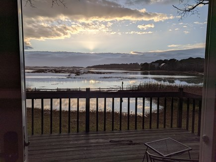 Eastham Cape Cod vacation rental - Spring time King High Tide
