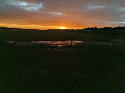 Eastham Cape Cod vacation rental - Stunning summer sunsets.