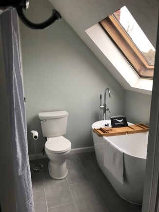 Mashpee, South Cape Beach Estates  Cape Cod vacation rental - Brand new master bath with shower and soaker tub.