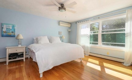 Mashpee, South Cape Beach Estates  Cape Cod vacation rental - Master bedroom with king bed.