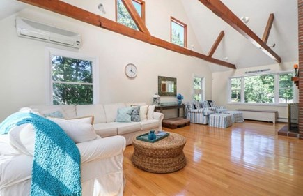 Mashpee, South Cape Beach Estates  Cape Cod vacation rental - Front to back living room