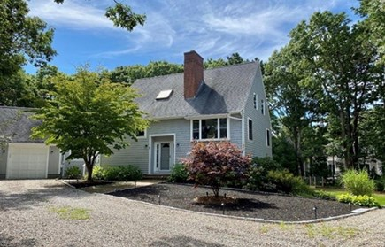 Mashpee, South Cape Beach Estates  Cape Cod vacation rental - Front of the house.