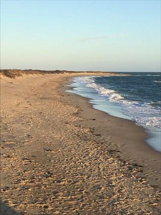 Mashpee, South Cape Beach Estates  Cape Cod vacation rental - South Cape Beach is beautiful and a short walk away.