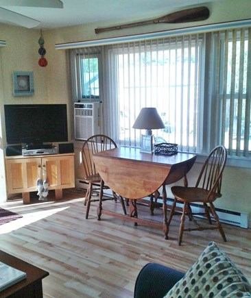 Provincetown Cape Cod vacation rental - Dining table that extends to seat 4 people
