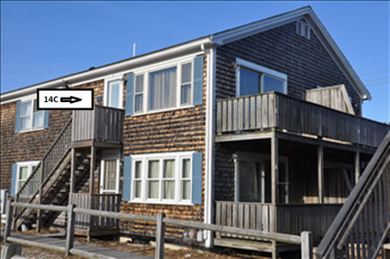Provincetown Cape Cod vacation rental - Condo bulding - unit is on the 2nd floor