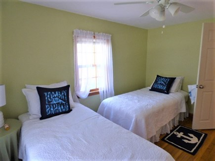 South Dennis Cape Cod vacation rental - Bedroom at Kitchen end of the house