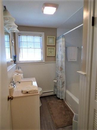 South Dennis Cape Cod vacation rental - Full bath in Hallway