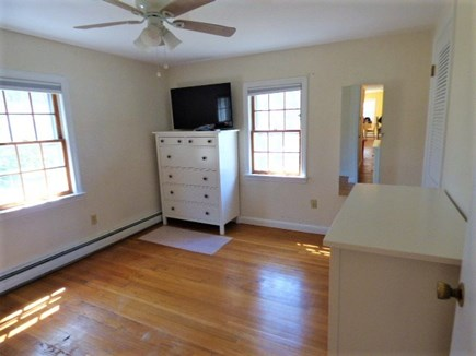 South Dennis Cape Cod vacation rental - 1 of 2 bedrooms at other end of the house , Double bed and single