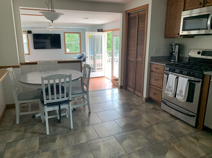 Chatham Cape Cod vacation rental - Eat in kitchen with an open floor plan for easy entertainment