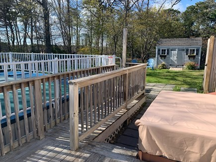 Chatham Cape Cod vacation rental - Pool, hot tub, outdoor shower and backyard