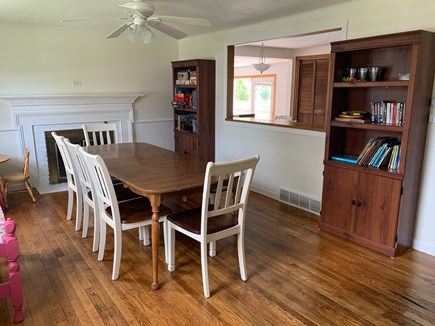Chatham Cape Cod vacation rental - Dining room with seating for 8 - food? games? you choose!